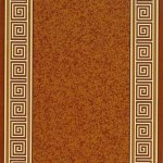 Gumirane staze 0702-a brown